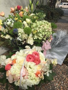 KANAWジュエリー エキシビションのお祝いのお花