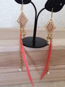 Kanaw Jewelry 羽ピアス